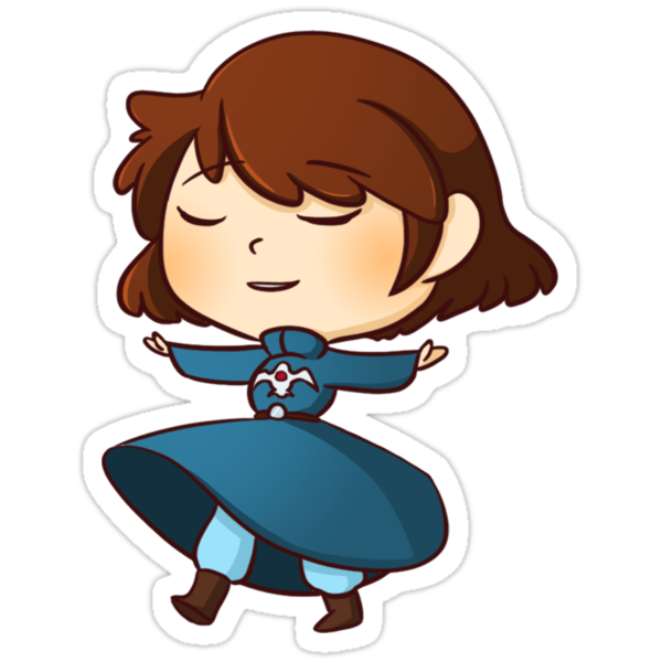 Quot Nausicaa Quot Stickers By Kimitsuzue Redbubble