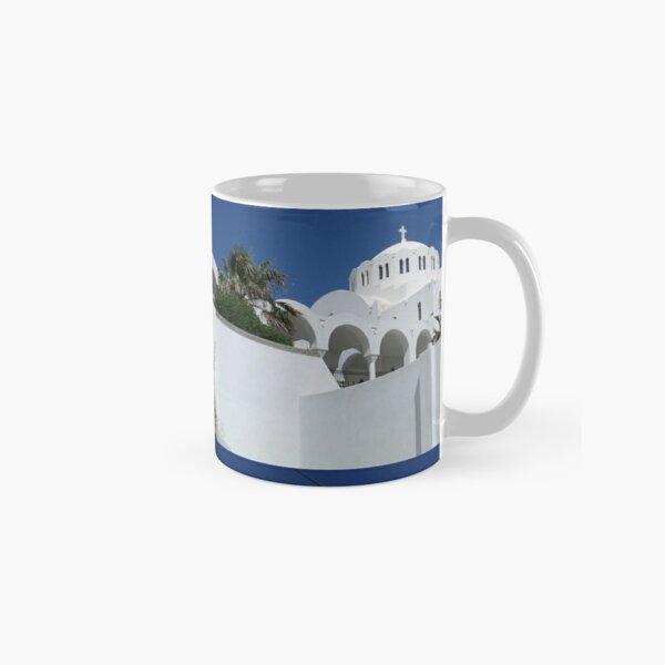 Santorini Church Classic Mug