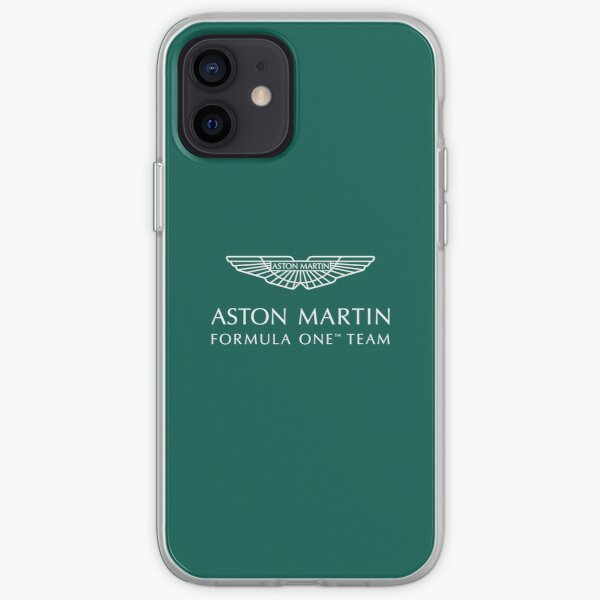 Logo Aston Martin F1 Coque souple iPhone