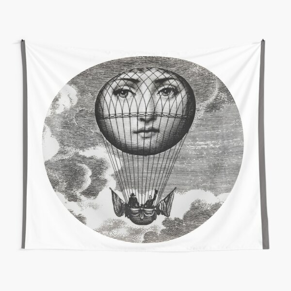 Fornasetti Hot Air Balloon Tapestry