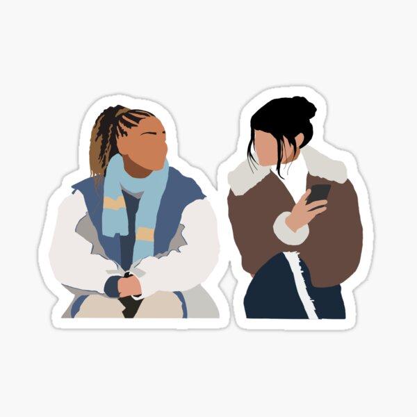 Kieu My et Fatou - Druck Sticker