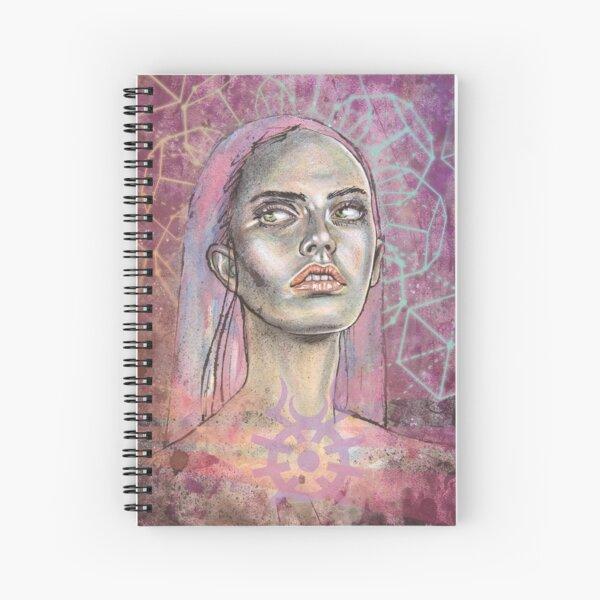 Violet_Harenchi Cahier à spirale