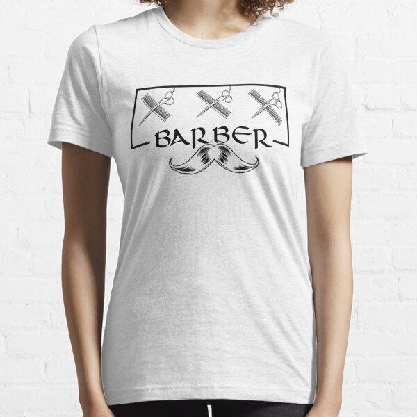 El mejor regalo de camiseta con diseño de peluquero: peluquero de salón para barberos Camiseta esencial