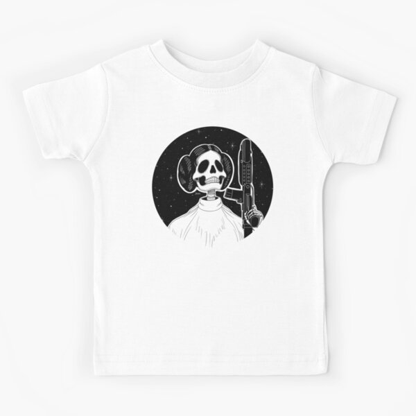 Leia (Stack's Skull Sunday) Kids T-Shirt