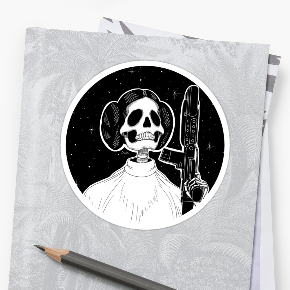 Leia (Stack's Skull Sunday) by Stack