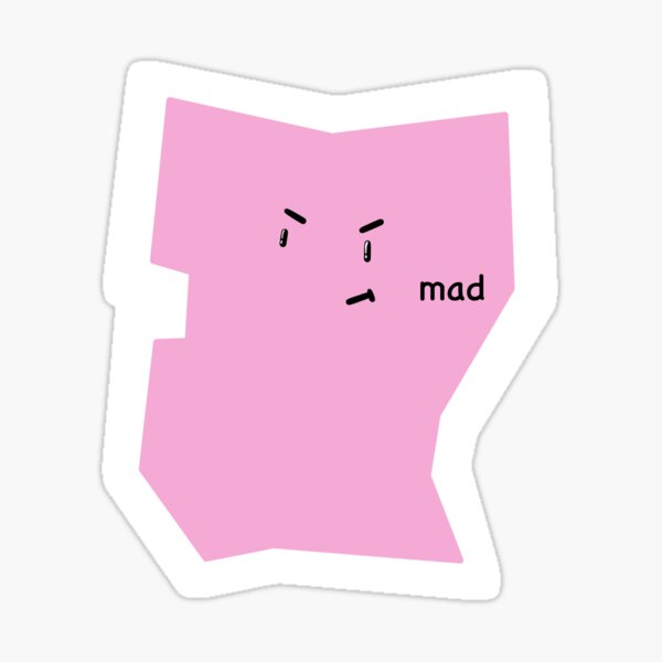 Mad squiggle Sticker