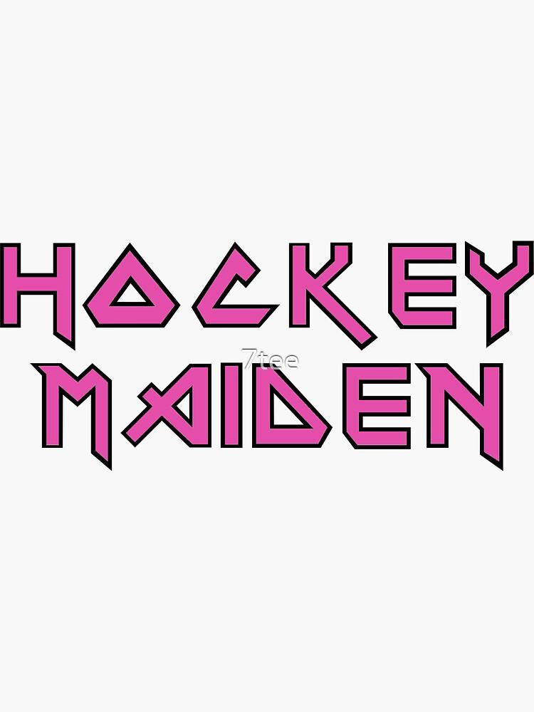 Hockey Mädchen von 7tee