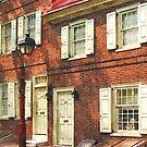 Philadelphia PA Brownstone by Susan Savad