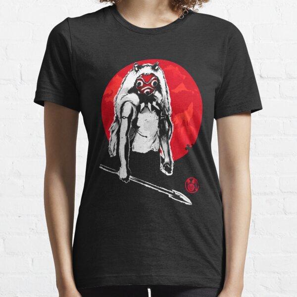 Princesa del bosque Sumi-e Camiseta esencial