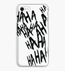 HAHA iPhone Case/Skin