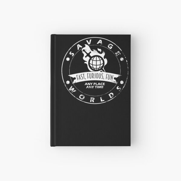 Savage Worlds Any Time Hardcover Journal
