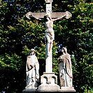 Jesus am Kreuz von Marie Sharp