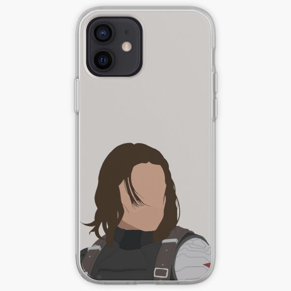 Bucky Barnes - Soldat de l'hiver Coque souple iPhone