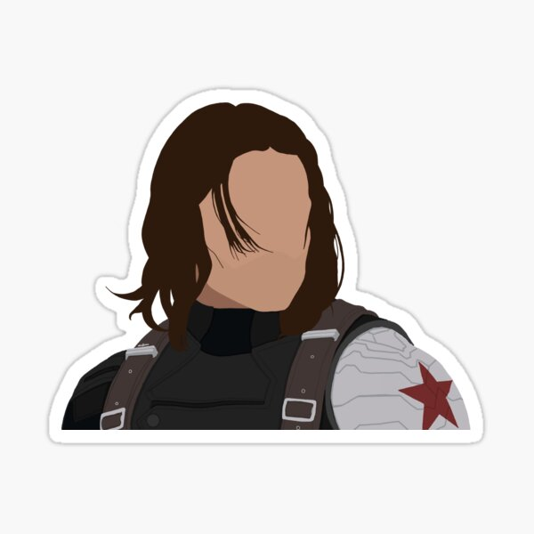 Bucky Barnes - Winter Soldier Sticker