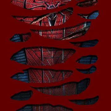 Spidey Ripped Chest by dezing