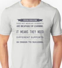 Special Education design Unisex T-Shirt