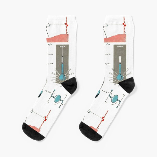Vintage Physics Poster Socks