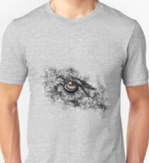 Owl in Black Snow T-Shirt