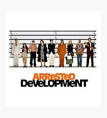 arrested development lineup Photographic Print