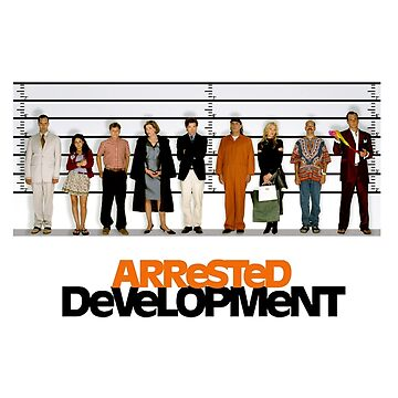 arrested development lineup by babejpg