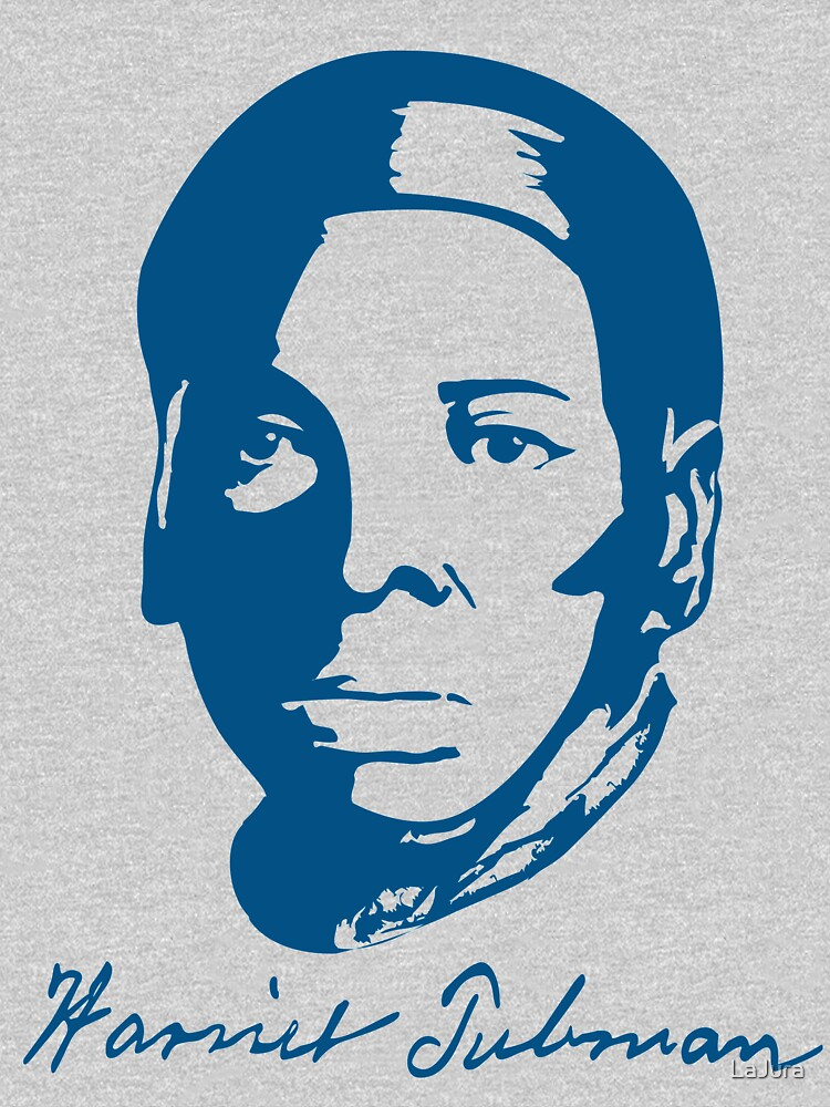 Harriet Tubman T Shirt With Real Signature Womens Relaxed Fit T