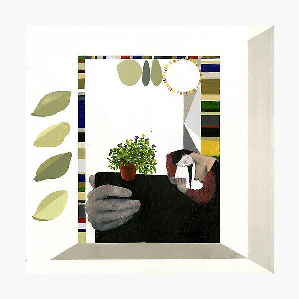 Turnover - Magnolia Photographic Print