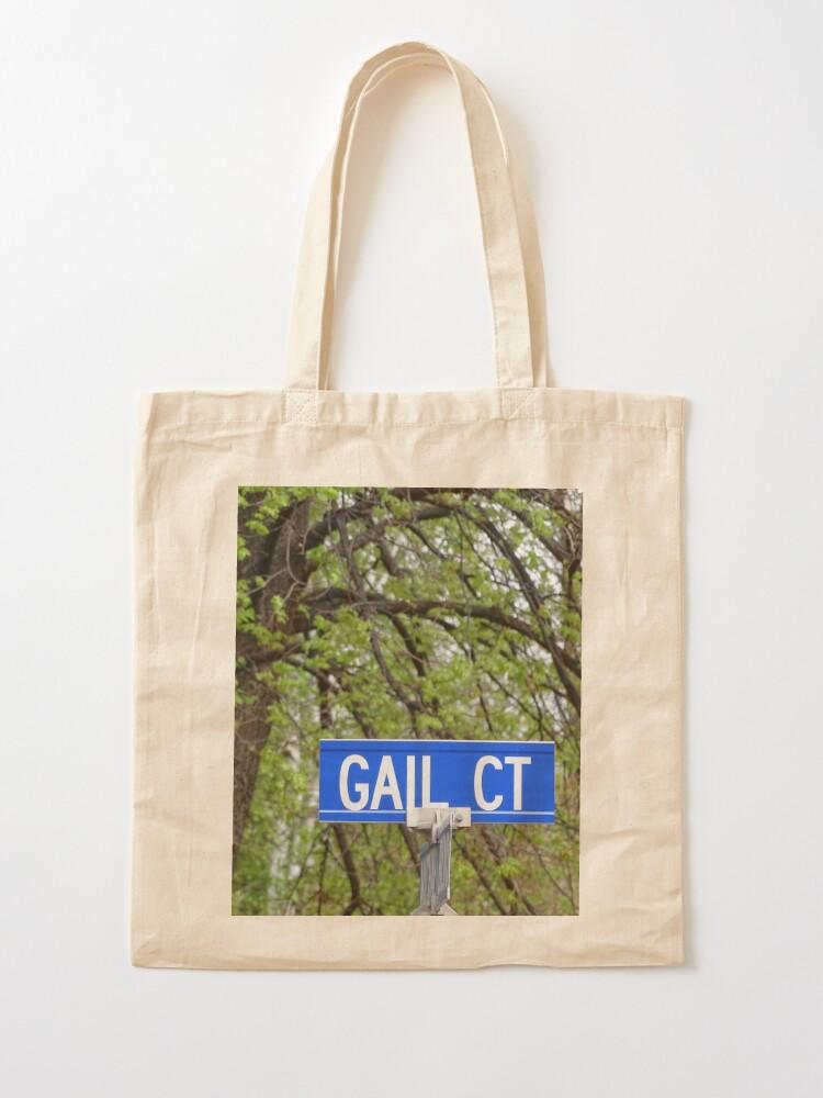 Alternate view of Gail, Gail mug, Gail magnet, Gail sticker, Gail mask Tote Bag