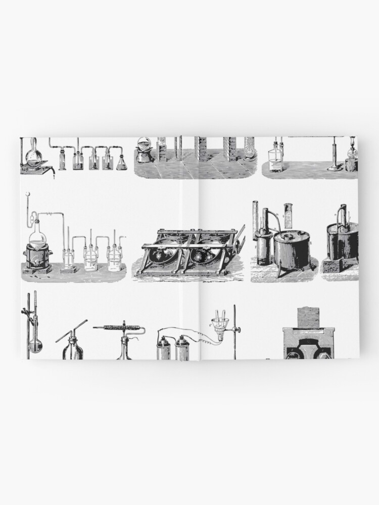 Alternate view of Vintage Science and Engineering Poster: Antique Chemistry Hardcover Journal