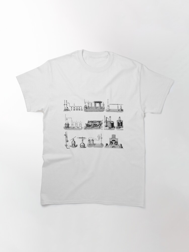 Alternate view of Vintage Science and Engineering Poster: Antique Chemistry Classic T-Shirt
