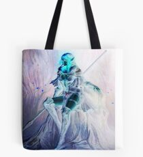 Whimsical Warrior Elf Woman Tote Bag