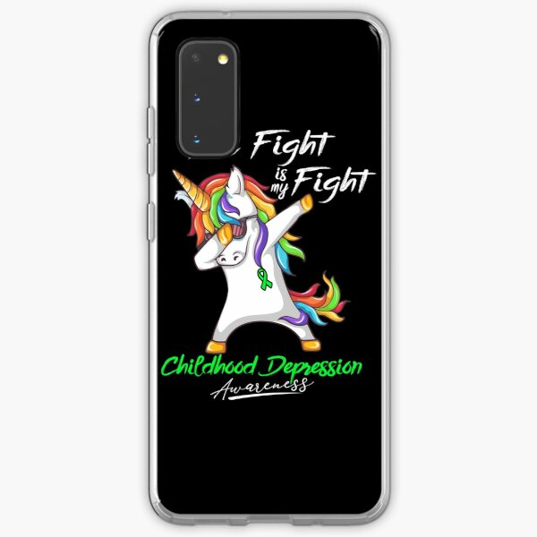 Her Fight Is My Fight Childhood Depression Awareness Samsung Galaxy Soft Case