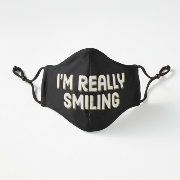 I'm really smiling Fitted 3-Layer