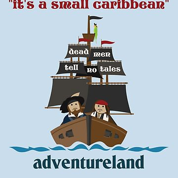 it's a small caribbean by scbb11Sketch