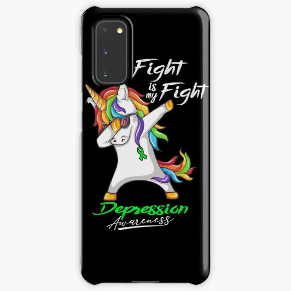 Her Fight Is My Fight Depression Awareness Samsung Galaxy Snap Case