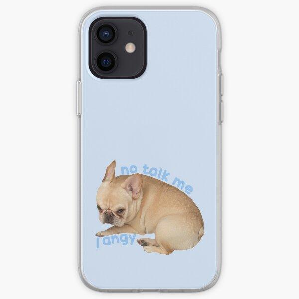 No Talk Me I Angy Marshy iPhone Soft Case