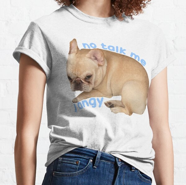 No Talk Me I Angy Marshy Classic T-Shirt