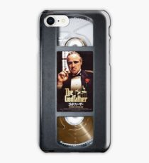 The Godfather vhs case  iPhone Case/Skin