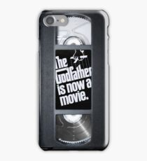 The Godfather vhs case 3 iPhone Case/Skin