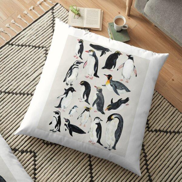 Penguins Floor Pillow