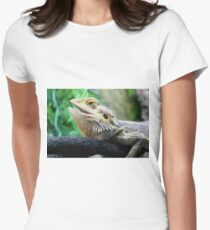Bearded Dargon aka Lucy Women's Fitted T-Shirt