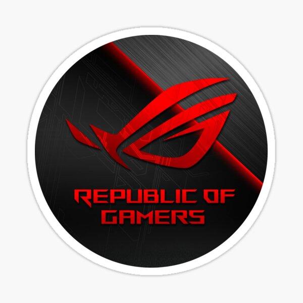 Asus Rog Strix logo Pegatina
