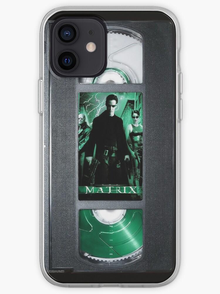 Matrix vhs iphone-case   Coque iPhone
