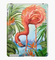 Flamingo Beach Revisited iPad Case/Skin