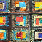 """Lilly Geometric Textile Art Series """"Loose Ends, Eleven"""" by Steve Chambers"""