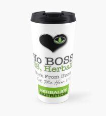 No Boss Yes Herbalife Stylish Swag Travel Mug