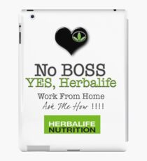 No Boss Yes Herbalife Stylish Swag iPad Case/Skin