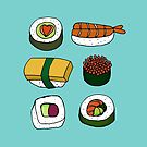 Sushi Love by Annie Riker