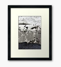 out of space Framed Print