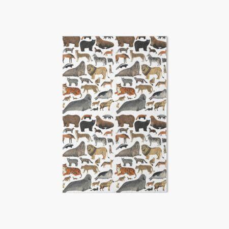 Wildlife Animals Art Board Print