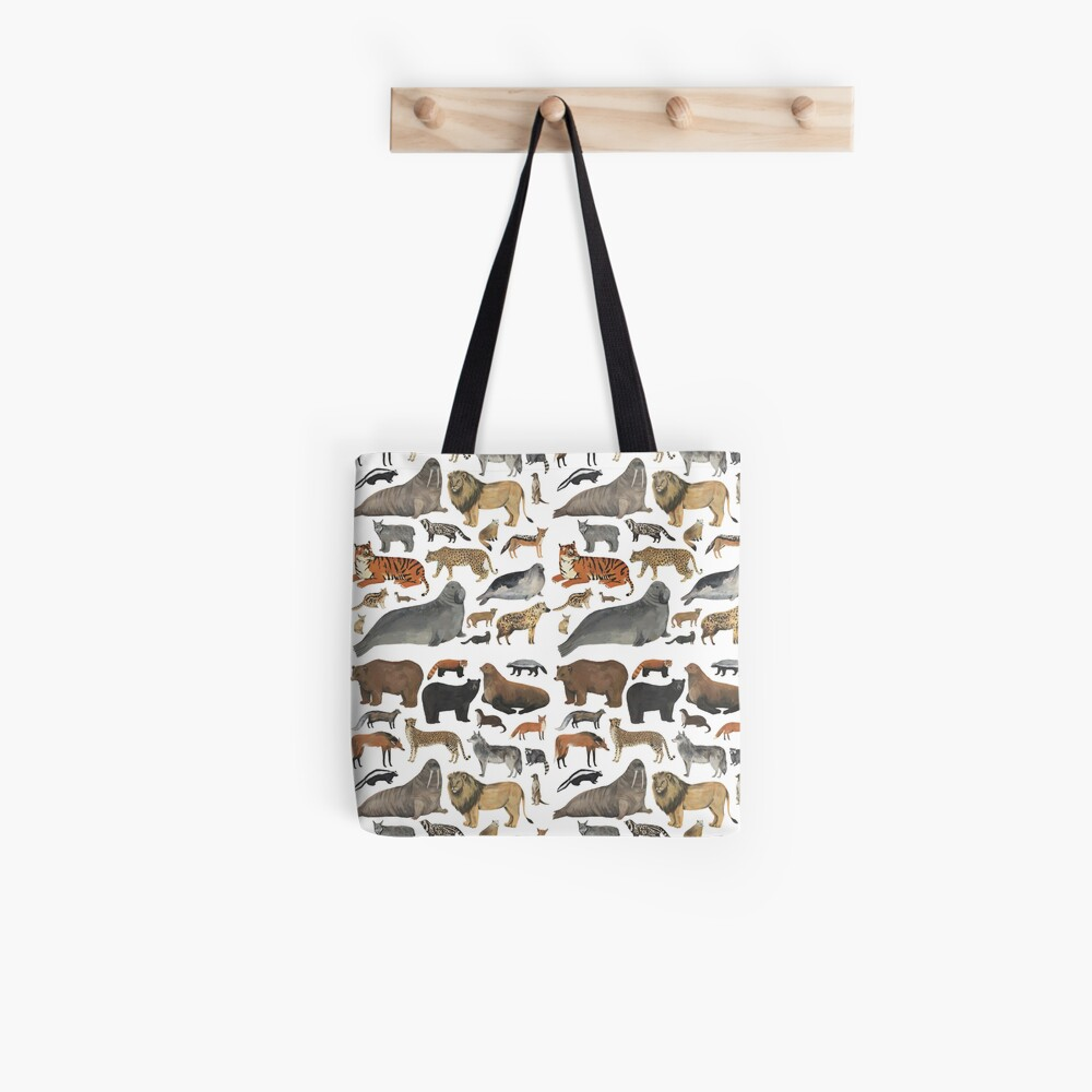 Wildlife Animals Tote Bag